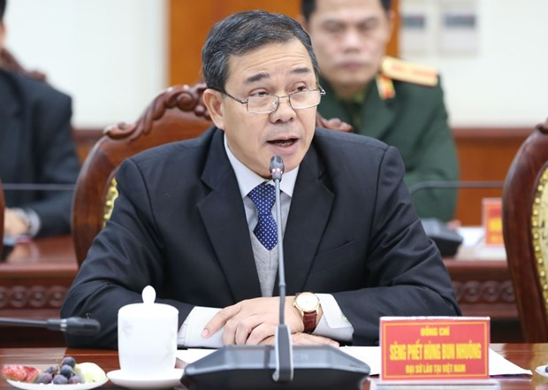 Elecciones en Vietnam evidencian democracia del socialismo, segun embajador laosiano hinh anh 2