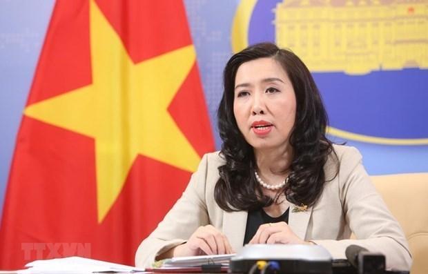 Exhorta Vietnam a reanudar proceso de paz en Oriente Medio hinh anh 1