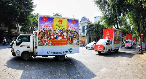 Elecciones en Vietnam evidencian democracia del socialismo, segun embajador laosiano hinh anh 1