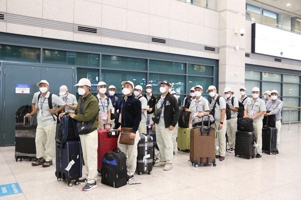 Reanudan envio de trabajadores vietnamitas a Corea del Sur hinh anh 1