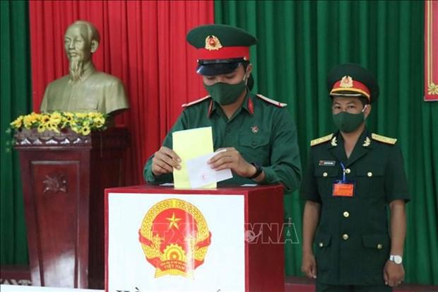 Embajador marroqui destaca esfuerzos de Vietnam en impulso de igual de genero hinh anh 2