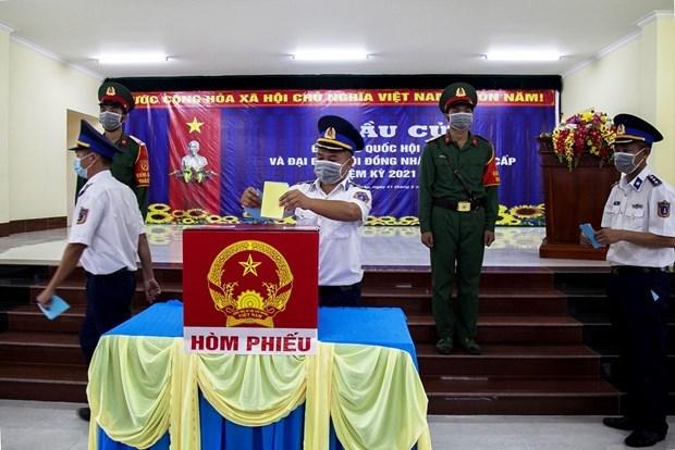 Elecciones legislativas ofrecen a vietnamitas oportunidad de alzar su voz sobre asuntos clave del pais hinh anh 1