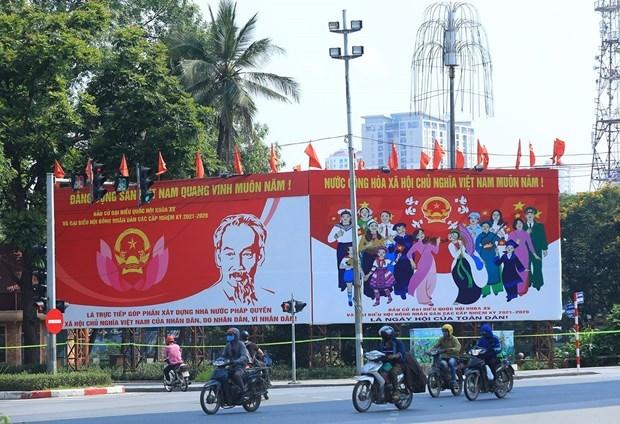 Elecciones legislativas ofrecen a vietnamitas oportunidad de alzar su voz sobre asuntos clave del pais hinh anh 2