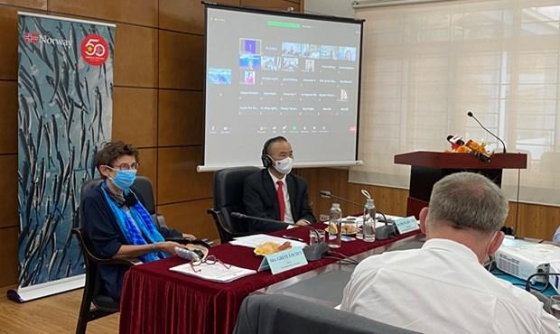 Vietnam y Noruega impulsan cooperacion en acuicultura marina hinh anh 1