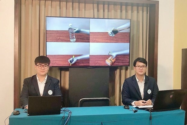 Estudiantes vietnamitas ganan premio en concurso internacional de investigacion hinh anh 1