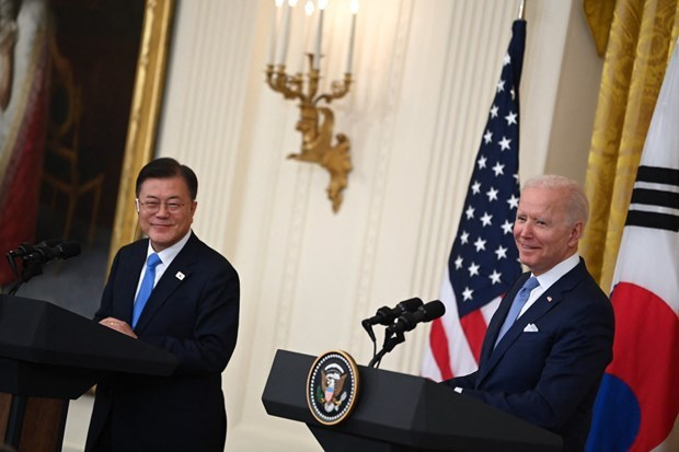 Estados Unidos y Corea del Sur afirman papel central de la ASEAN hinh anh 1