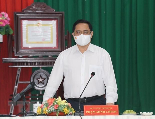 Destacan exitos iniciales de ciudad vietnamita en respuesta a COVID-19 hinh anh 1