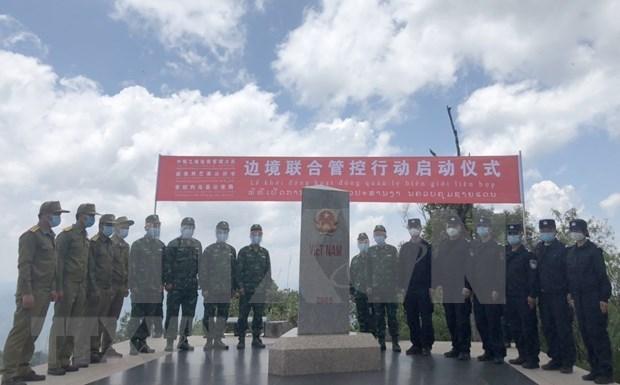 Vietnam, China y Laos cooperan en la gestion y proteccion de fronteras hinh anh 1