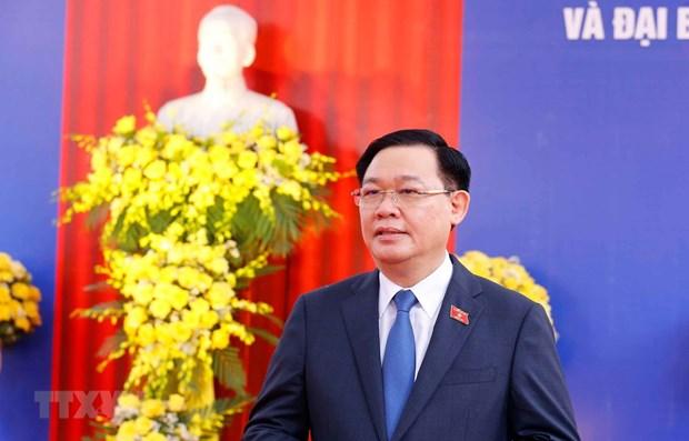 Elecciones legislativas muestran fuerza del pueblo vietnamita, afirma presidente del Parlamento hinh anh 1