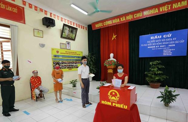 Elecciones legislativas de Vietnam se desarrollan segun lo planeado, afirmo vicepresidente del Parlamento hinh anh 2