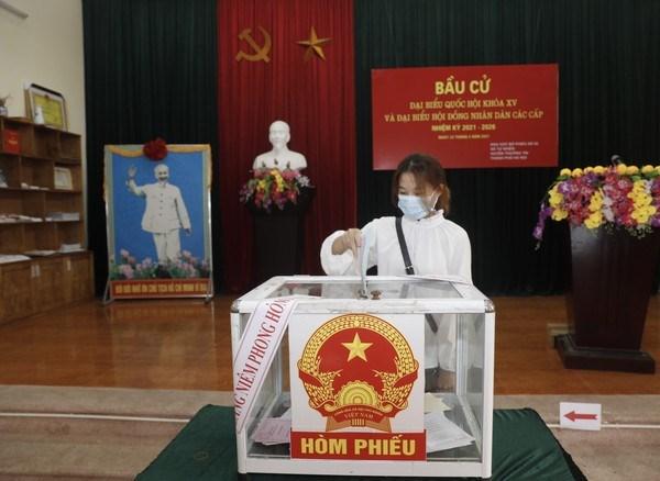 Inician elecciones legislativas en Vietnam hinh anh 2