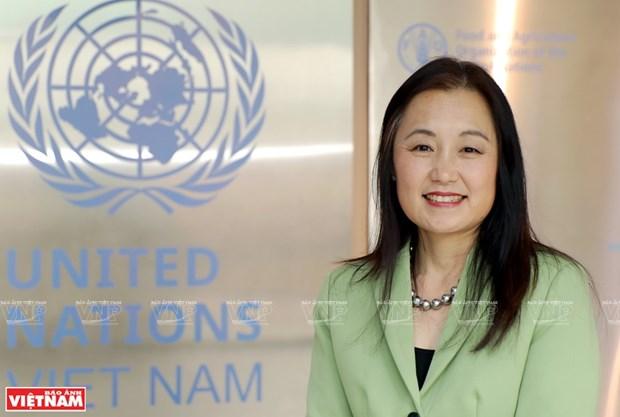 Promotora de la igualdad de genero y derechos para las mujeres vietnamitas hinh anh 1