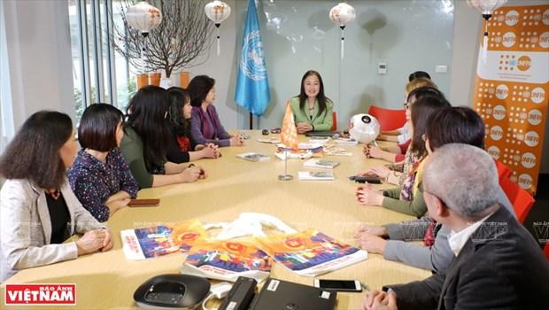 Promotora de la igualdad de genero y derechos para las mujeres vietnamitas hinh anh 2