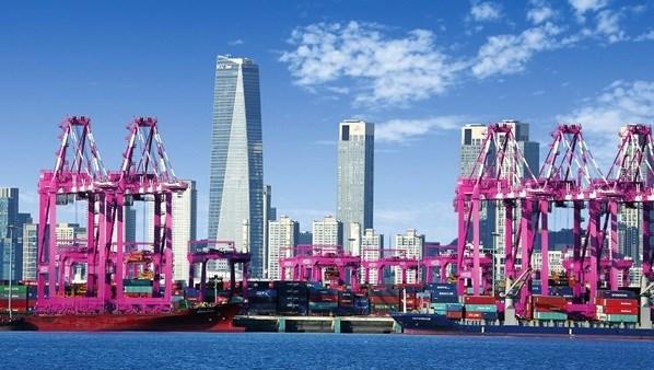 Corea del Sur abre nueva ruta maritima de transporte de contenedores a Vietnam y Tailandia hinh anh 1