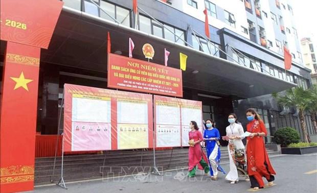 Exito de elecciones fortalece la confianza del pueblo en el Partido y el Estado de Vietnam hinh anh 1