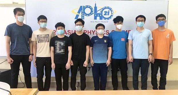 Estudiante vietnamita obtiene puntuacion mas alta en Olimpiada Asiatica de Fisica hinh anh 1
