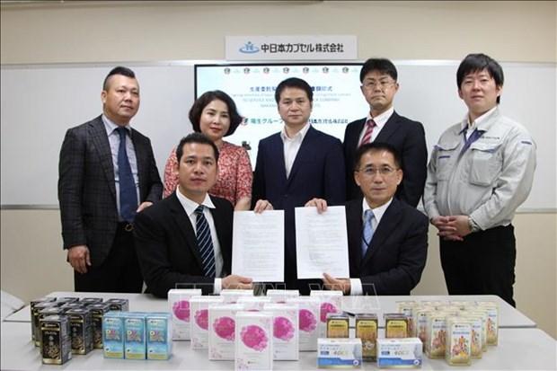 Distribuyen suplementos alimenticios anticancerigenos de Japon en Vietnam hinh anh 1