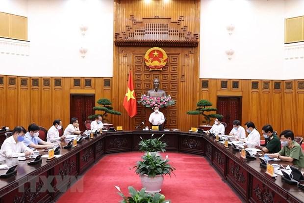 Pide premier de Vietnam establecer fondo para vacunacion antiCOVID-19 hinh anh 2