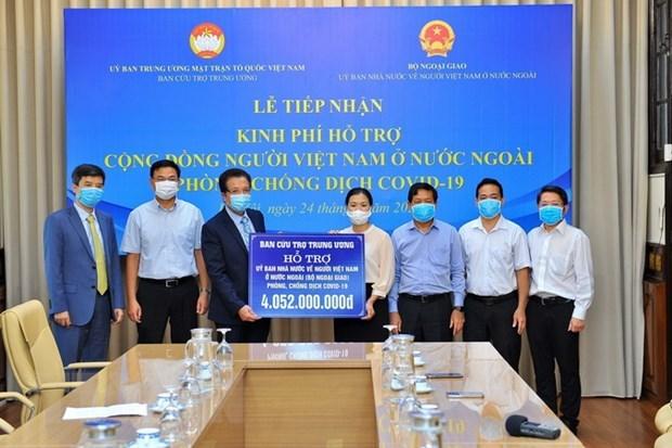 Apoyan a vietnamitas en extranjero afectados por COVID-19 hinh anh 1