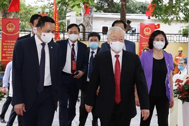 Elecciones legislativas en Vietnam acaparan interes de medios japoneses hinh anh 1