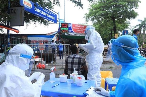 Registra Vietnam 287 casos nuevos de COVID-19 hinh anh 1