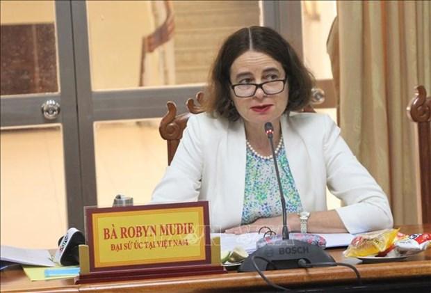 Australia ayuda a eliminar la violencia contra mujeres y ninos en Vietnam hinh anh 1