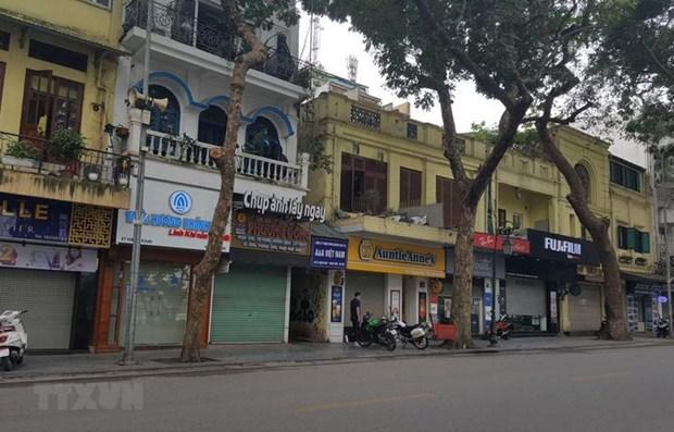 Intensifica Hanoi medidas de restriccion por el COVID-19 hinh anh 1