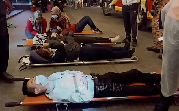 Mas de 200 heridos tras colision de trenes de alta velocidad en Malasia hinh anh 1