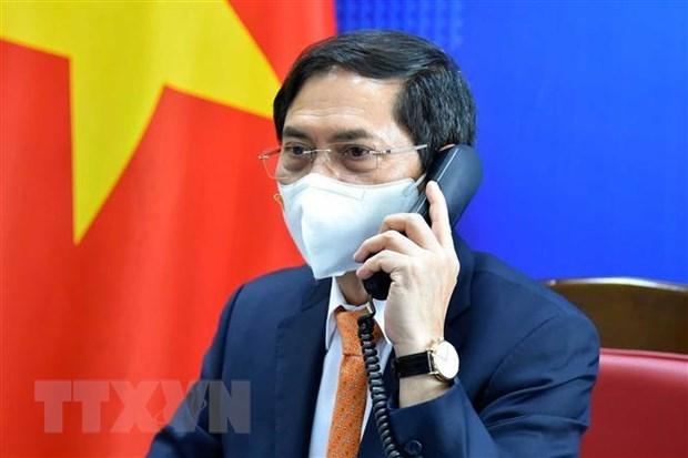 Agilizan cooperacion multifacetica entre Vietnam y Alemania hinh anh 1