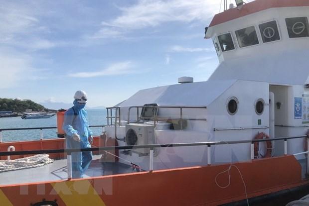 Vietnam salva a marinero filipino con apendicitis hinh anh 1