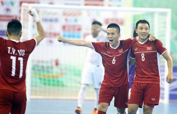 Vietnam consigue boleto a Copa Mundial de Futsal 2021 hinh anh 1