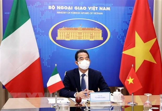 Vietnam e Italia realizan consulta politica a nivel viceministerial hinh anh 1