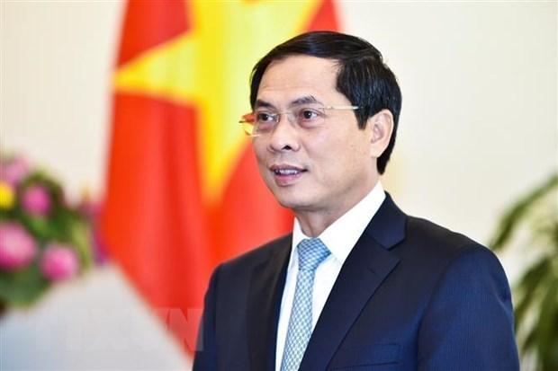 Vietnam felicita a nuevo ministro de Relaciones Exteriores y Movilidad Humana de Ecuador hinh anh 1