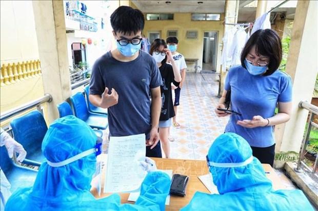 Registra Vietnam 80 casos nuevos de COVID-19 hinh anh 1