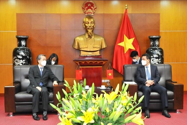 Vietnam y China buscan facilitar comercio bilateral hinh anh 1