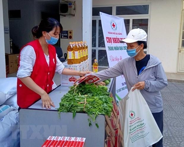 Cruz Roja de Vietnam exhorta a apoyar a personas afectadas por COVID-19 hinh anh 1