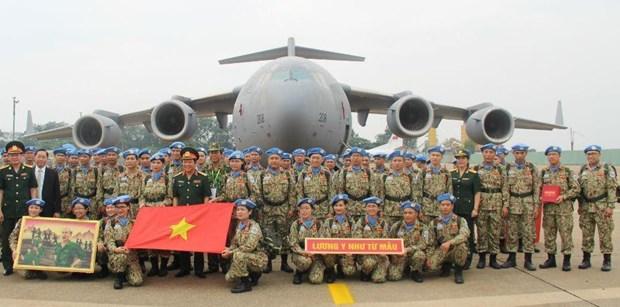 Incorporarse a los cascos azules evidencia politica exterior de Vietnam hinh anh 1