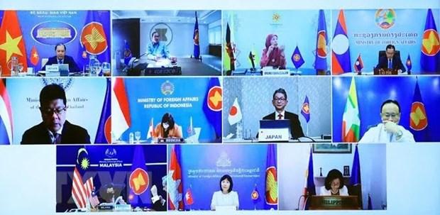 Efectuan XXXVI Foro ASEAN-Japon hinh anh 1