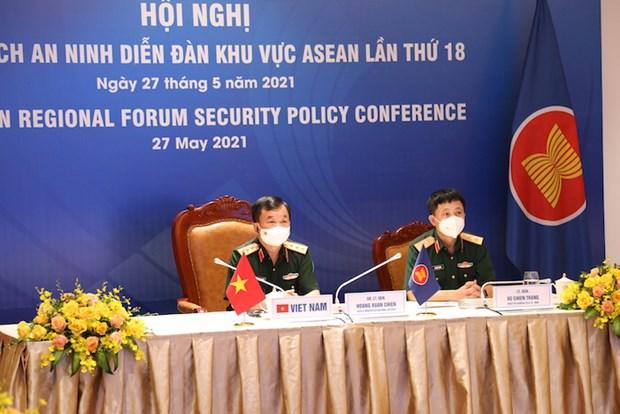 Vietnam participa en Conferencia de Politica de Seguridad de ASEAN hinh anh 1