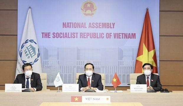 Participa Vietnam en la 142 Asamblea de la Union Interparlamentaria hinh anh 1