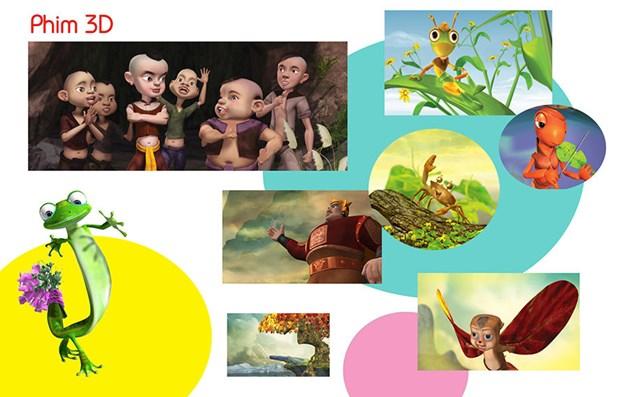 Proyectaran en Vietnam 50 peliculas de animacion destacados hinh anh 1