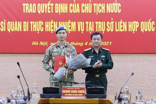 Incorporarse a los cascos azules evidencia politica exterior de Vietnam hinh anh 2