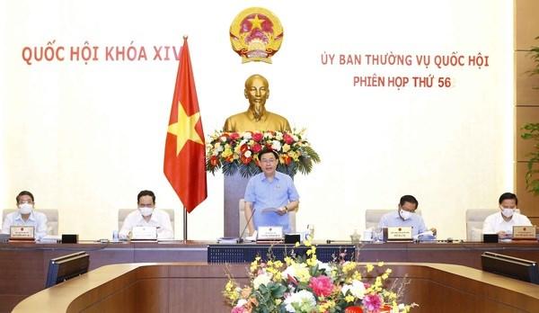 Sesiona Reunion 56 del Comite Permanente del Parlamento vietnamita hinh anh 1