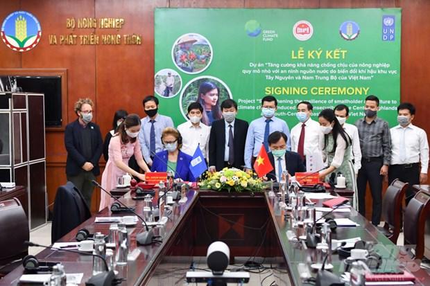 Fondo Verde para el Clima apoya a Vietnam en el enfrentamiento al cambio climatico hinh anh 2