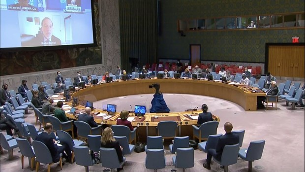 Vietnam insta a reanudar las negociaciones sobre cuestion de Palestina hinh anh 1