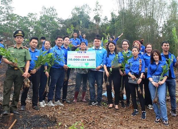 Publican Informe especial sobre actividades de jovenes vietnamitas por el cambio climatico hinh anh 1