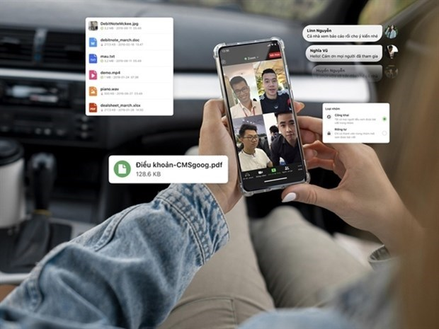 Lanza red social vietnamita Gapo plataforma de trabajo para empresas hinh anh 1