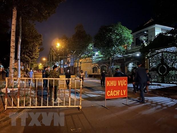 Provincia vietnamita de Binh Duong reporta cuatro casos de COVID-19 hinh anh 1