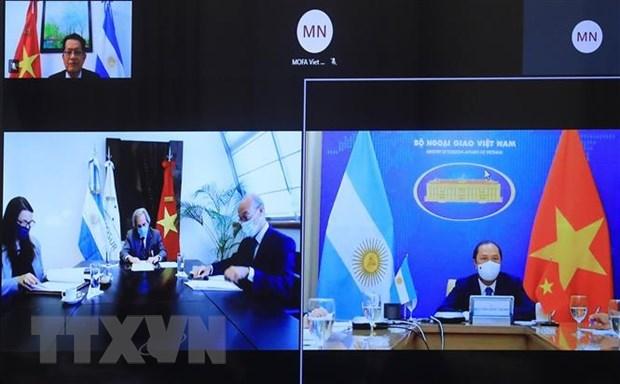 Vietnam y Argentina efectuan VIII Consulta politica hinh anh 1