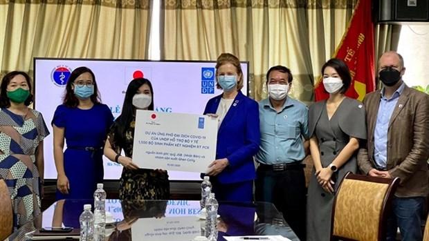 PNUD ofrece a Vietnam kits de prueba de COVID-19 hinh anh 1